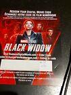 DISNEY Marvel Black Widow  UHD Movie only Scarlett Johansson