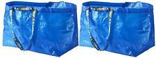 IKEA FRAKTA Oversized Carrier Bags Blue Exstra Large Size Shopping Bag 2 Pcs Set