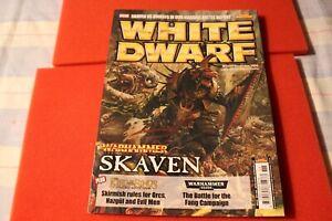 Games Workshop The White Dwarf Issue 359 Warhammer 40k WH40K GW Skaven Fantasy