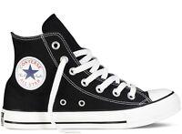 CONVERSE CHUCK TAYLOR ALL STAR BASSE ALTE scarpe sneakers uomo donna tessuto run