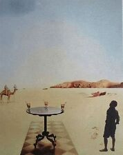 Salvador Dali Lithograph Poster The Sun Table FULL SIZE France