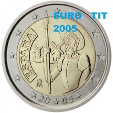 """2 €    ESPAGNE  NEUVE   """"  DON QUICHOTTE  """"    2005  1   X  PIECE     disponible"""