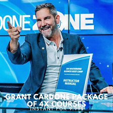 Grant Cardone Package Of 4x Courses |🍒 Value $9999+