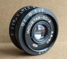 INDUSTAR 50-2 Blak Lens 3.5/5 M42 USSR  ZENIT CANON Nikon