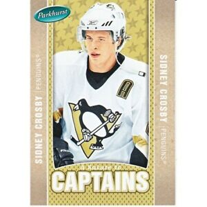 SIDNEY CROSBY 2005-06 UD PARKHURST SALUTE TO CAPTAINS