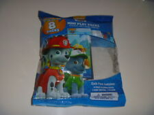 PAW PATROL Mini Play 8 Packs Nickelodeon Party Favors Classroom Giveaway Bendon