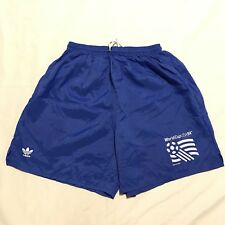 Vintage 1994 USA World Cup Shorts Adidas Blue Size XL Large 90s Rare Soccer
