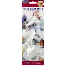 PME venoso Mariposa Cortador émbolo Set Sugarcraft Pastel Decoración Envío Rápido