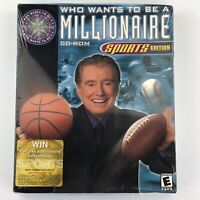 Who Wants To Be A Millionaire Sports Edition 2000 Regis Philbin PC Big Box New