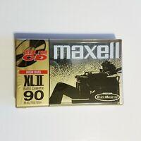 MAXELL XL II 90 Minute Sealed Single Audio Cassette Tape IEC Type II Blank music