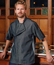 More details for premier chef's zip-close short sleeve jacket