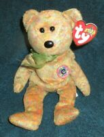 Ty Beanie Baby Speckles the Bear DOB February 17, 2000 MWMT Free Shipping