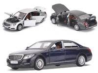 1:32 Mercedes Benz S600 Class Diecast Car Model Collection Pull Back Toys Gift
