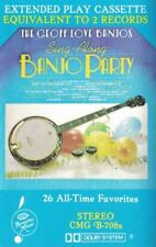 The Geoff Love Banjos Sing Along Banjo Party Audio Music Cassette Tape