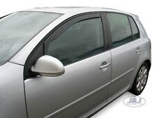 VW Golf MK5 5 DOOR  Front wind deflectors  2004-2008  2pc TINTED HEKO