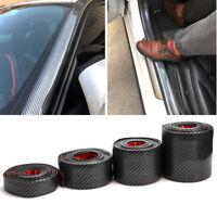 Car 1M Surface Protector Strip Carbon Fiber Bumper Edge Anti-collision Anti-Rub