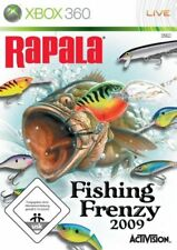 Rapala Fishing Frenzy 2009, simulation avec bateau et pêche, pour Xbox 360,