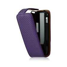 Cover hull embossed case for samsung galaxy spica i5700 purple color + film p
