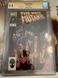 The New Mutants #24 CGC 9.8 Signature Series