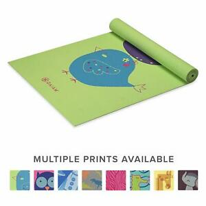 Gaiam Kids Yoga Mat Exercise Mat Yoga for Kids with Fun Prints - Playtime for...