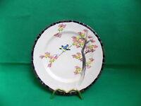 Japanese Eggshell Porcelain Signed Dai Nippon 19 Century Cake Plate