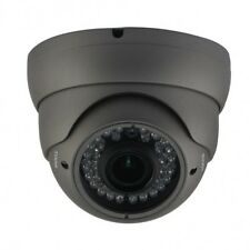 CCTV IP Eyeball IR Camera 1080P Megapixel HD Vandal Proof Dome Network 8MM 36led
