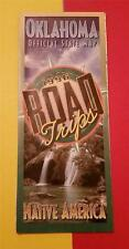 "VINTAGE ""1996 OKLAHOMA OFFICIAL HIGHWAY ROAD FOLD MAP"" NATIVE AMERICA"