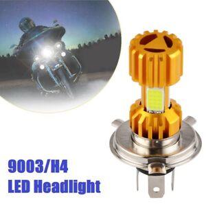 LED Headlight Kit White H4 9003 Bulb For Kawasaki ZX1100 Ninja ZX-11 1990-2001