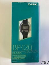 Reloj Casio BP-120 Blood Pressure Monitor Watch Nuevo New Old Stock NOS Vintage