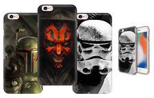 Star Wars Viliants Boba Fett Trooper Darth Maul Phone Case fits Apple iPhone