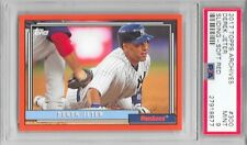 DEREK JETER 2017 Topps Archives RED New York YANKEES Card #300 10/25 PSA 9 1992