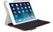 Logitech Ultrathin Keyboard Folio iPad Mini-Mars Red Orange w/Textured Skin