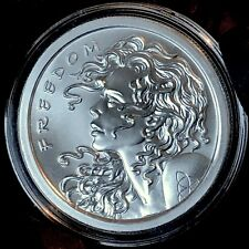 2013 Original Freedom Girl Silver Bullet Shield SBSS 1 oz BU Rare Wastweet