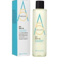 Argan+ Dry Body Oil 200ml - Multi-Action for Dry Aging Uneven Skin Stretch Marks
