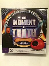 The Moment of Truth Electronic Game BRAND NEW FACTORY SEALED