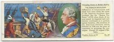King George III American Revolution Boston Tea Party History 1930s Ad Card