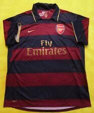 2.5/5 ARSENAL LONDON 2007~2008 ORIGINAL FOOTBALL THIRD SHIRT JERSEY TRIKOT NIKE