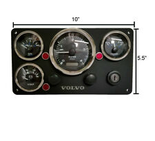 Volvo Penta Engine C-Panel, Tachometer with ignition key, fully wired Ready USA