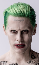 Suicide Squad Jared Leto Joker Tattoo Face/Knuckles (4) Pack MegaCon Cosplay
