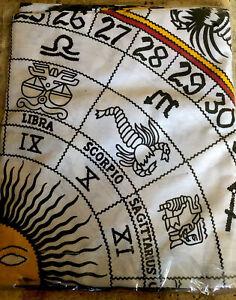 Mandala Zodiac Tapestry WallHanging Decor Bohemian Hippie