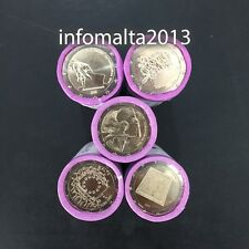 2011 2013 2014 2015 Malta Coin Rollen 125 Muenzen Wholesale Dealer Uncirculated