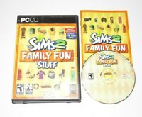 The Sims 2 Family Fun Stuff PC Game Expansion Pack 2006 Complete