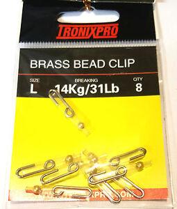Tronix Pro Brass Bead Clip - Size L