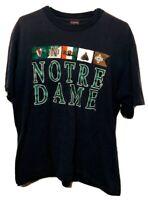 Vintage Notre Dame Fighting Irish Single Stitch Jansport USA T-Shirt Mens XL