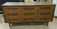 Mid-Century Modern Style 9 Drawer Dresser