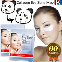 PUREDERM Collagen Hydro Eye Zone Mask 60 sheets / Eye Zone White Wrinkle Care