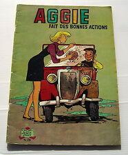 AGGIE FAIT DES BONNES ACTIONS - N° 26 ....... BD souple