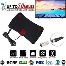HD Digital DTV Indoor TV Antenna HDTV Antena DVB-T VHF UHF ATSC Signal Aerial