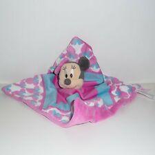 Doudou Souris Disney - Minnie - Rose bleu