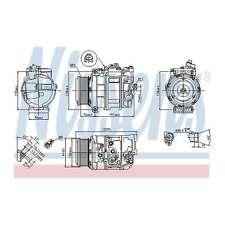 Fits Mercedes-Benz S-Class W221 S 350 CDi 4matic Nissens Air Con Compressor